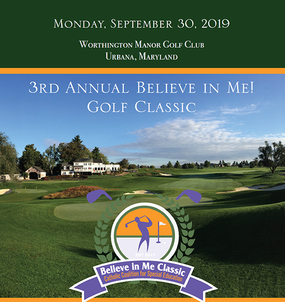 3rd Annual 'Believe in Me!' Golf Classic