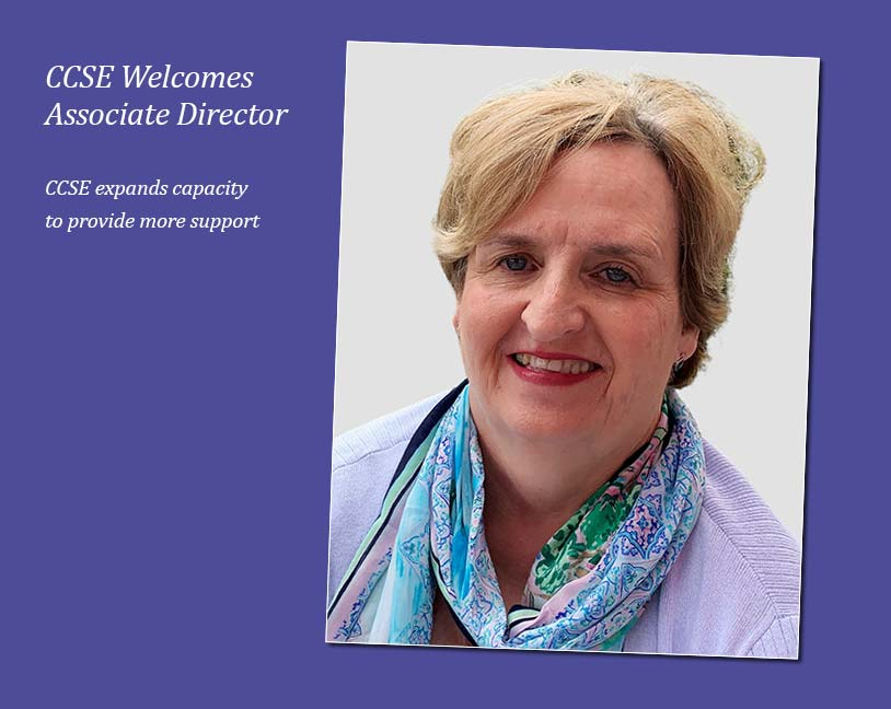CCSE Welcomes Associate Director