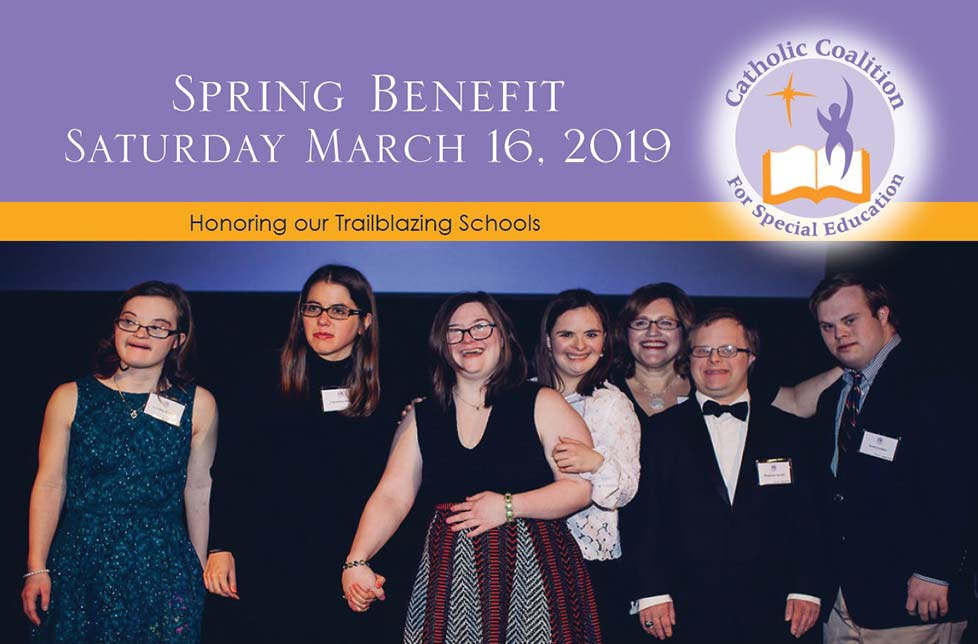 Spring Benefit: Saturday, March 16, 2019